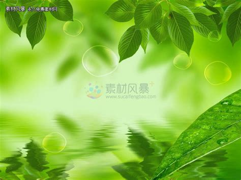 wallpaper for green environment green ppt background picture material free download ppt