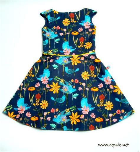blauwe jurk katoen jurk allegria super knap jurkje in blauwe katoen met