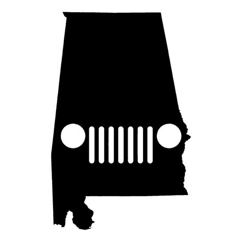 jeep stickers alabama jeep jeep stickers car decals wall decals