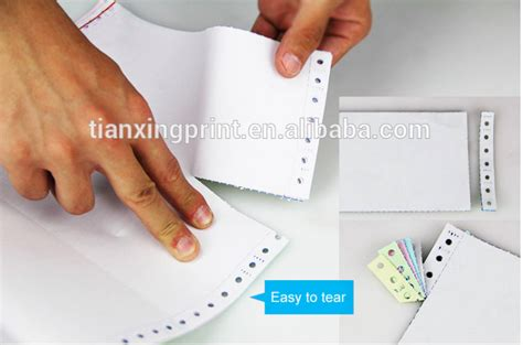 Kertas Ncr Continuous Form Sidu 3 Ply harga kertas continuous form 3 ply carbonless continuous computer form paper buy 3ply