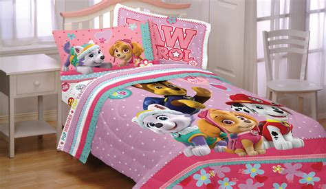 paw patrol bedding paw patrol twin bed sheet set 3pc best pup pals skye and