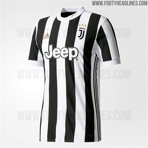 Juventus Home Jersey 2017 2018 juventus 17 18 home kit released footy headlines