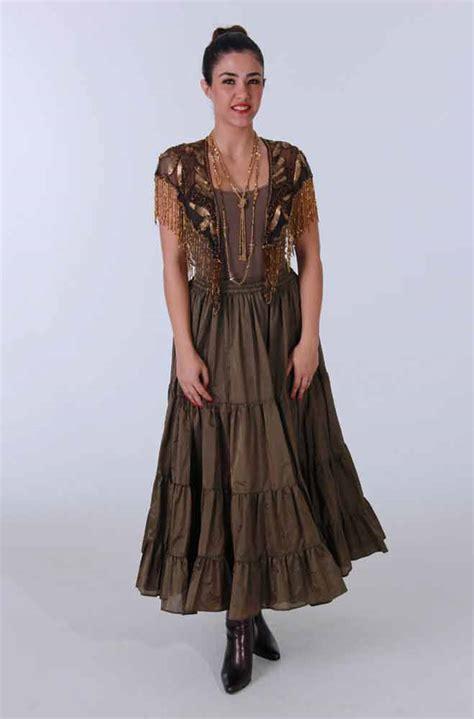 copper skirt set western wear western clothing