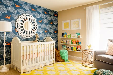 Nursery Decor Wallpaper To Be Different 20 Unforgettable Accent Walls
