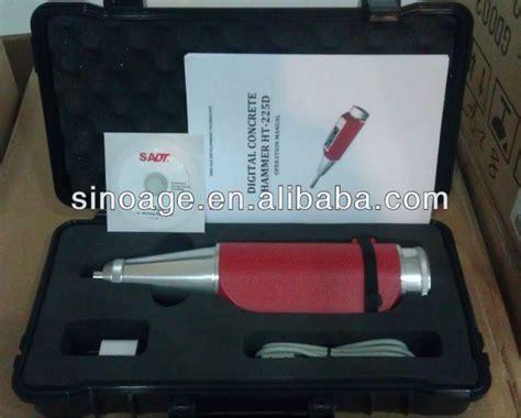Digital Concrete Hammer Test Sadt 225d Garansi 1thn digital sclerometer ht 225d buy digital sclerometer sclerometer digital rebound hammer product
