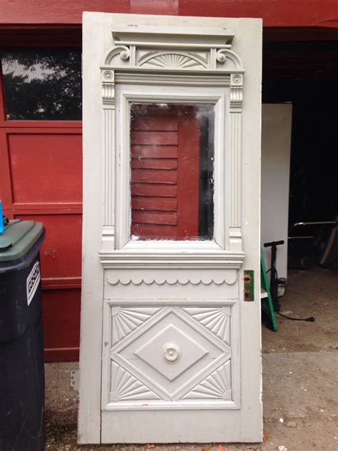 Ebay Exterior Doors Antique Exquisite Gingerbread Exterior Entry Door Solid Wood 1890 Ebay