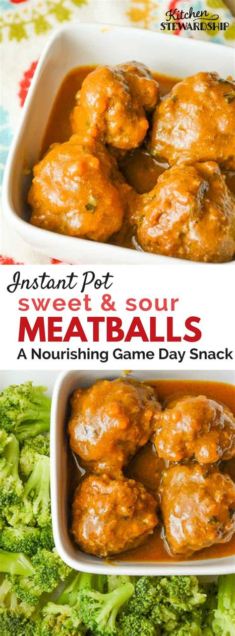 instant pot sweet and sour meatballs recipe aip amp gaps