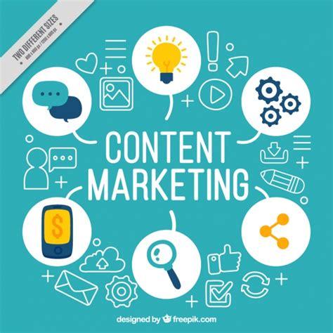 blue background  marketing elements vector