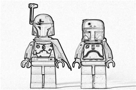 lego wars boba fett coloring pages coloring pages lego wars nathanael s informational