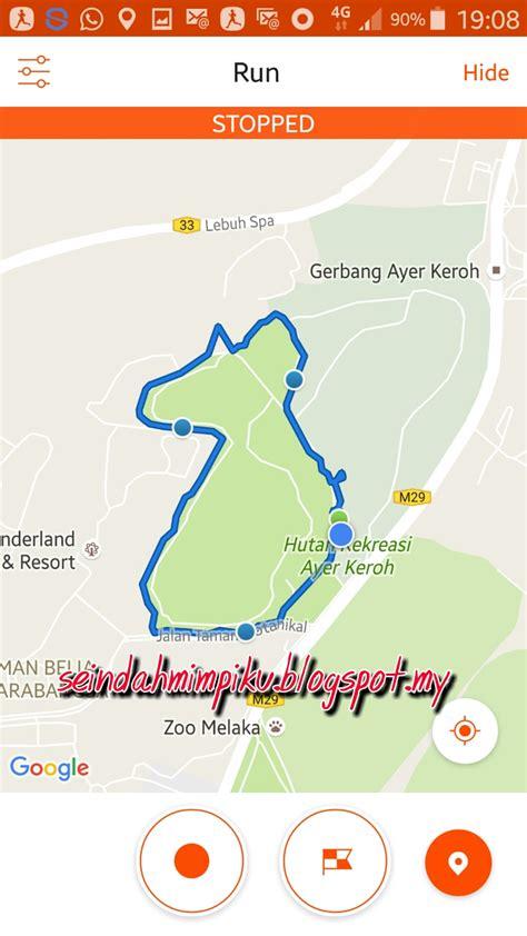 seindah mimpiku jogging  hutan rekreasi ayer keroh