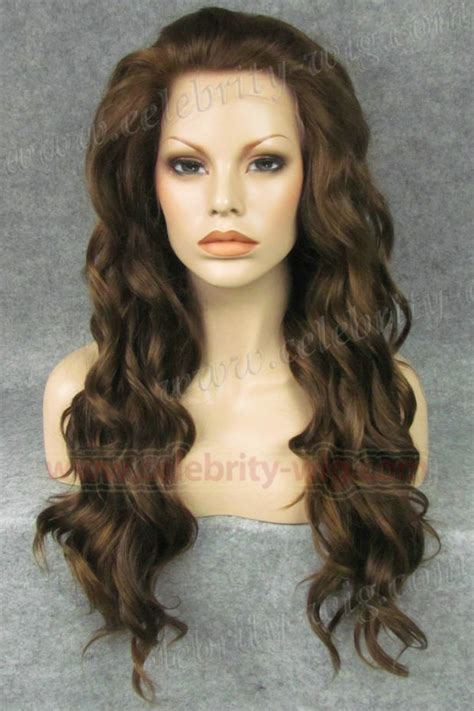 new fashion brown wig s wavy n6 8 27 new style realistic brown charming