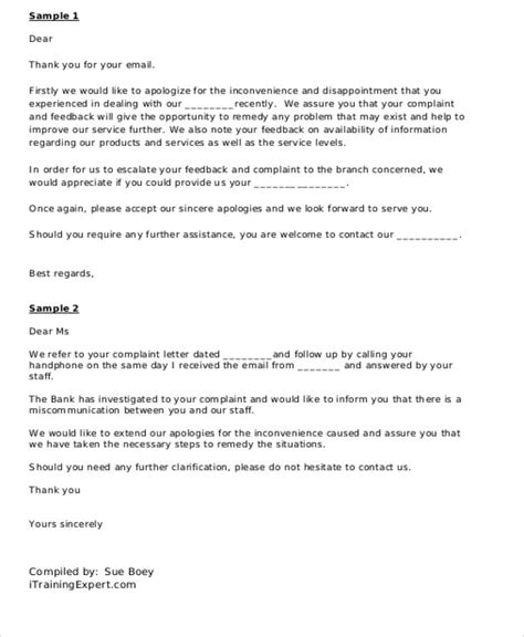 replying to a complaint letter template sle business complaint letter 7 exles in word pdf