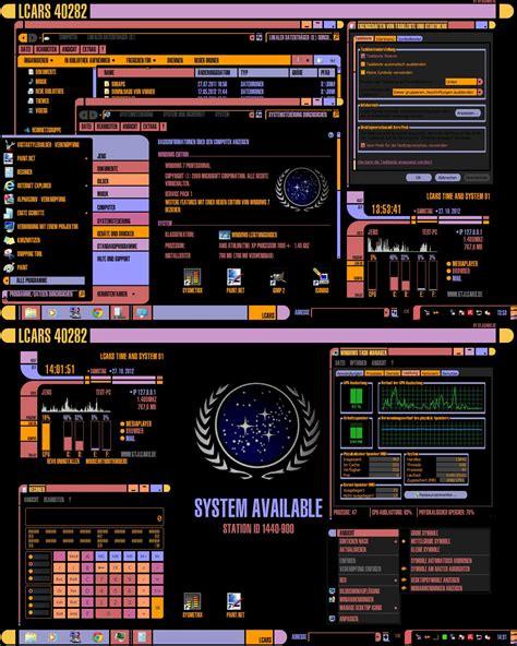 star trek themes for windows 8 1 windows 7 lcars theme usepihigu