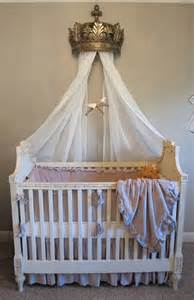 Bed Crown Canopy Nursery Crib And Bed Crown