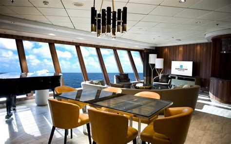 largest room this is the cruise ship suite on the high seas travel leisure