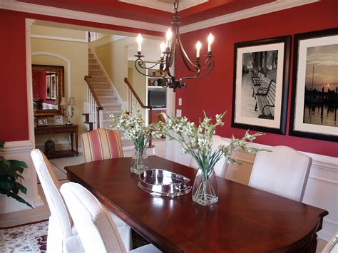 Red Dining Rooms by 60 Red Room Design Ideas All Rooms Photo Gallery