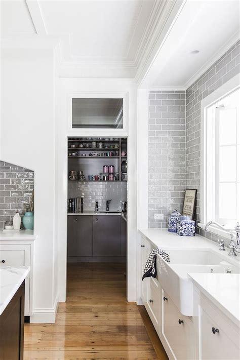 interiors hamptons style home dust jacket bloglovin kitchen pinterest grey subway