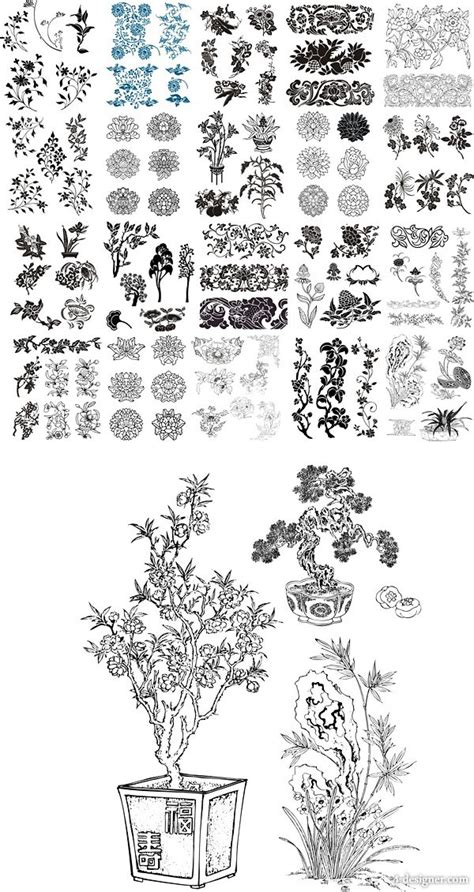 cdr pattern download 4 designer 49 kinds of the cdr vector patterns patterns