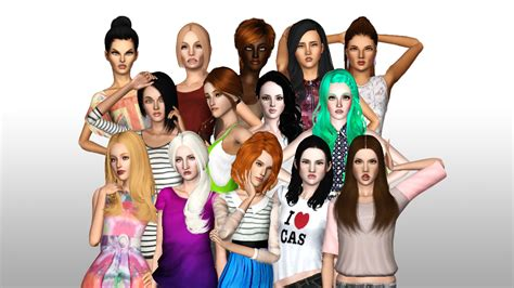 The Sims Next Top Model Week One by Sims Next Top Model Cycle 9 Wollsson S S3ntm Wiki
