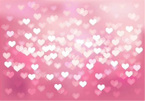 background design heart bokes hearts background vector free vectors images in