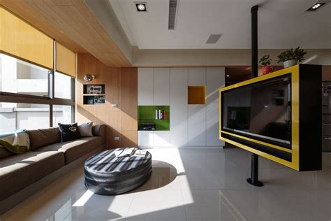 nature inspired details shaping modern family apartment in