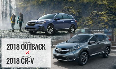 2017 Vs 2018 Crv 2017 honda cr v vs 2017 subaru outback