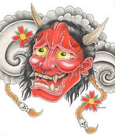 oni tattoo jepang best pictures artwork japanese mask tattoo