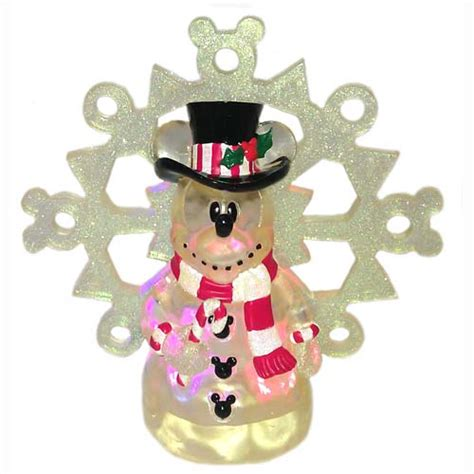 your wdw store disney christmas tree topper snowman