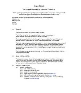 writing a scope of work template 30 ready to use scope of work templates exles
