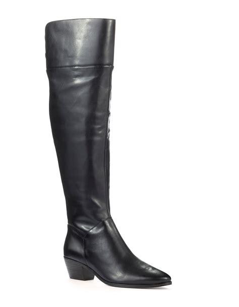 elie tahari pompeii boots in black lyst