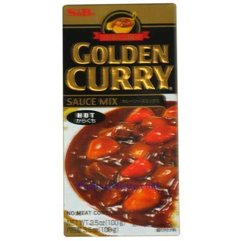 Sale S B Golden Curry Sauce Mix Saus Kari 100g picture of s b golden curry sauce mix spicy 3 5 oz