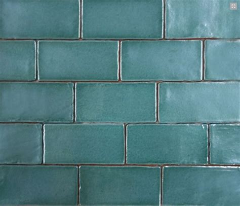 Handmade Subway Tiles - made subway tile in green 75x150 our products