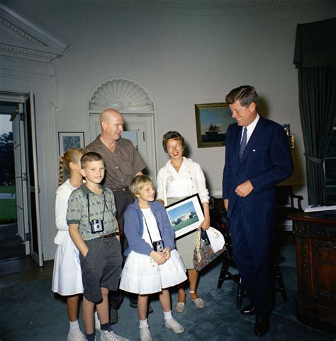 kennedy house visit of the one millionth visitor to the white house in