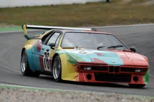 andy warhol s 1979 bmw m1 car to be center at