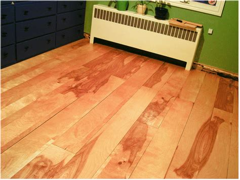 Easy Flooring Ideas Diy Project Beautiful Birch Plywood Flooring Made Easy Homejelly