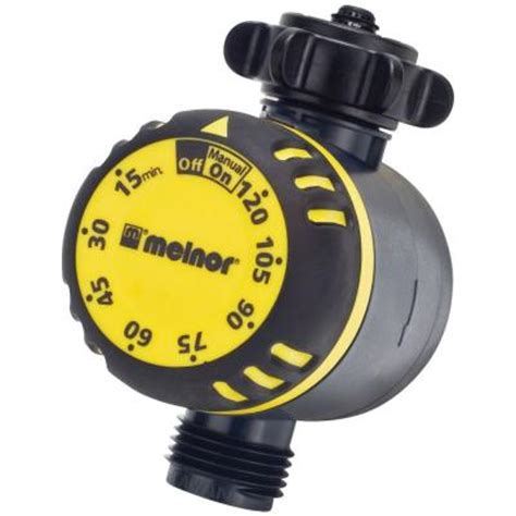 melnor mechanical water timer 480 616 the home depot
