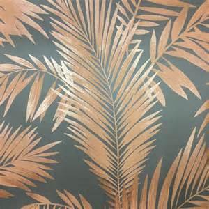 Brothers Interiors Arthouse Ardita Copper Wallpaper 673001