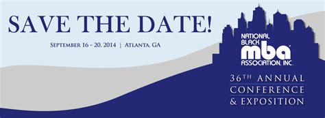 Mba Annual Conference 2013 by 36th Annual National Black Mba Conference Exposition