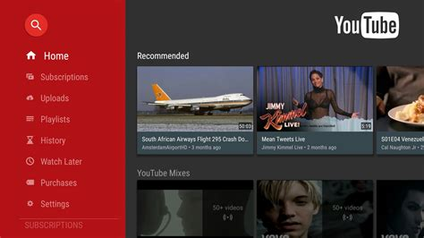 mobile tv app for android android tv app updated with improved design androidheadlines