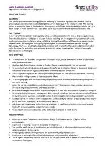 agile business analyst resume skills http