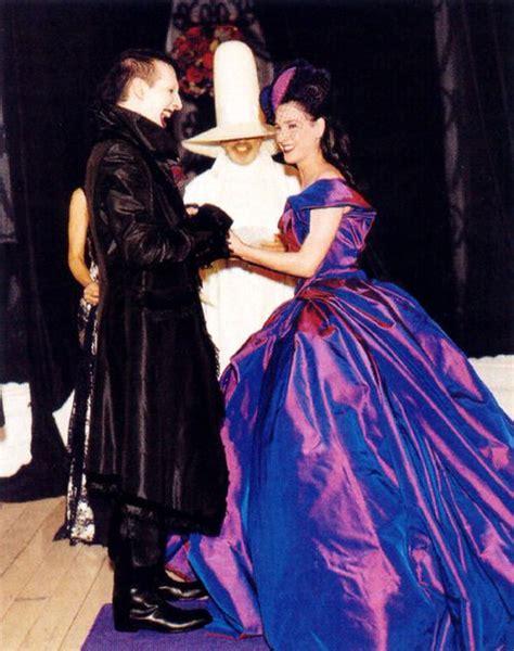 Or Fabulous Dita Teeses Purple Vivienne Westwood Wedding Dress by Dita Teese In Vivienne Westwood And Marilyn