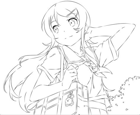 kirino vector colorable outline by xtwinvipersx on deviantart