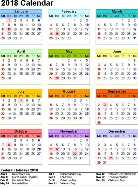 Niger Calend 2018 2018 Yearly Calendars With Holidays Activity Shelter