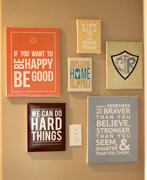 Diy Paintings For Home Decor by Make Diy Quote Art On Canvas Mod Podge Rocks