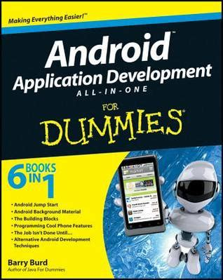 android books android application development all in one for dummies by barry burd reviews discussion