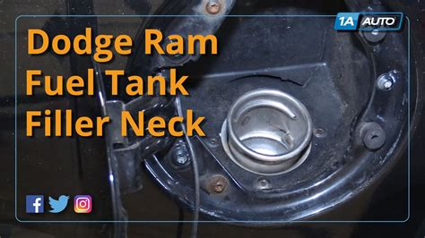 how to remove fuel pump 2004 dodge grand caravan how to install replace fuel tank filler neck 2004 08 dodge ram buy quality auto parts at 1aauto