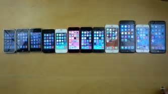 Iphone 1 2 3 4 5 comparison
