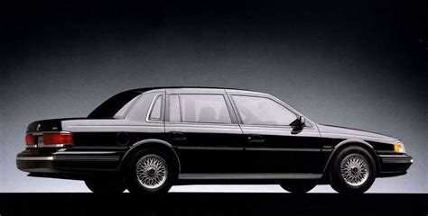 ford lincoln continental 1991