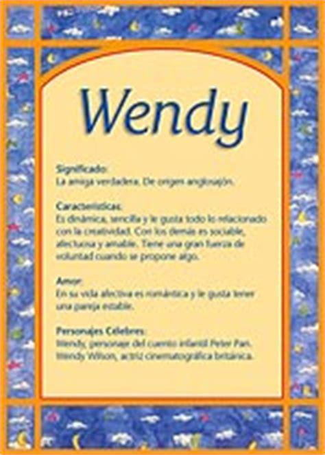 imagenes feliz cumpleaños wendy wendy significado del nombre wendy tuparada com