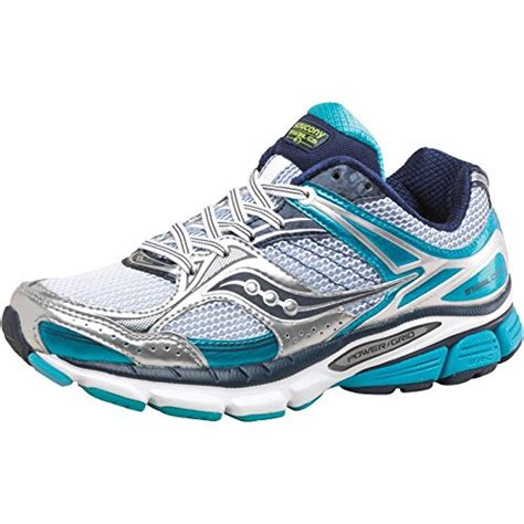 saucony stability running shoes buy saucony womens cs3 stability running shoes white blue